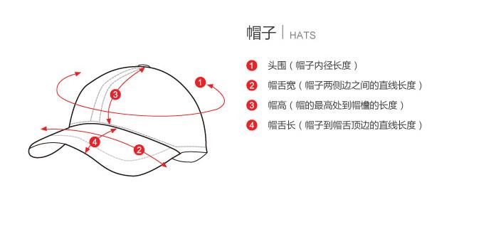 帽子手绘设计图